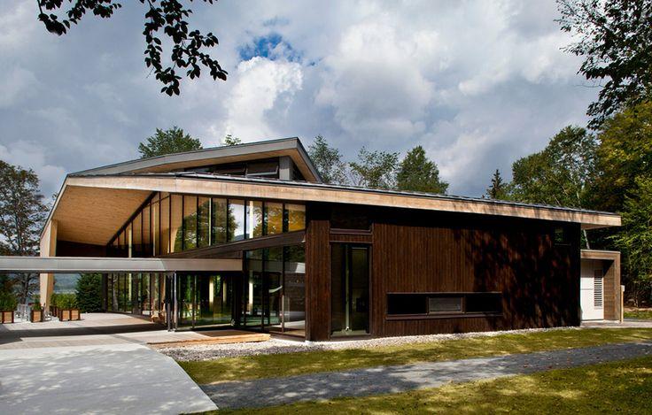 Naturupplevelse av Smith Vigeant, foto Stéphane Brugger – http://www.tidningentra.se/notiser/ogongodis-for-upptacktsresande #arkitektur i #trä