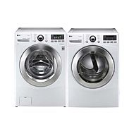 LG-3.7 cu. ft. Front-Load Steam Washer and 7.3 cu. ft. Steam Dryer  $1809