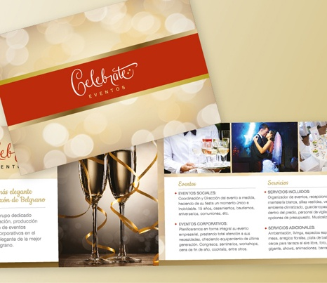 Celebrate Eventos - Promotional Brochure
