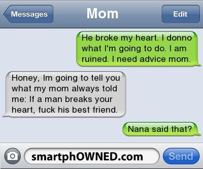 Nana said that? - Awkward Parents - Aug 17, 2011 - Autocorrect Fails and Funny Text Messages - SmartphOWNED