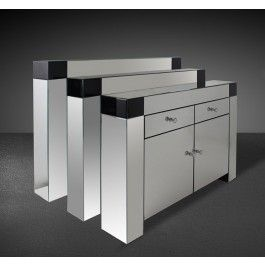 modern mirrored furniture. windsor modern mirrored console table furniture t