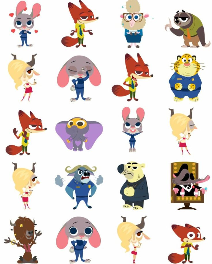 You can now use zootopia stickers on Facebook!