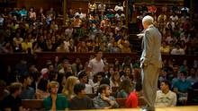 Michael Sandel's renowned Justice lectures are now available as an online course. MOOCs are making some university professors rock stars.