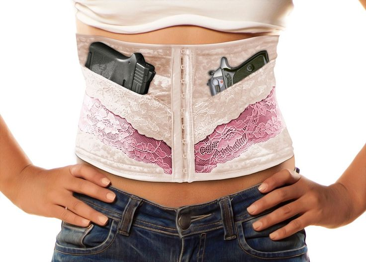 Concealed Carry Corset - Slim