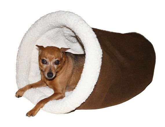 brown burrow dog bed cozy cave dog bed chinese crested dog italian greyhound snuggle dachshund - Cozy Cave Dog Bed