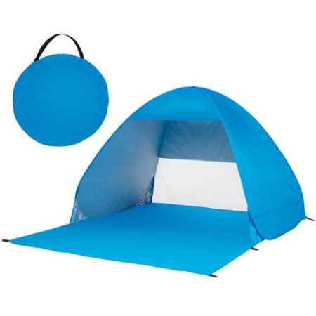 Best Choice Products Outdoor Easy Pop Up Beach Tent Sun Shelter Portable Shade