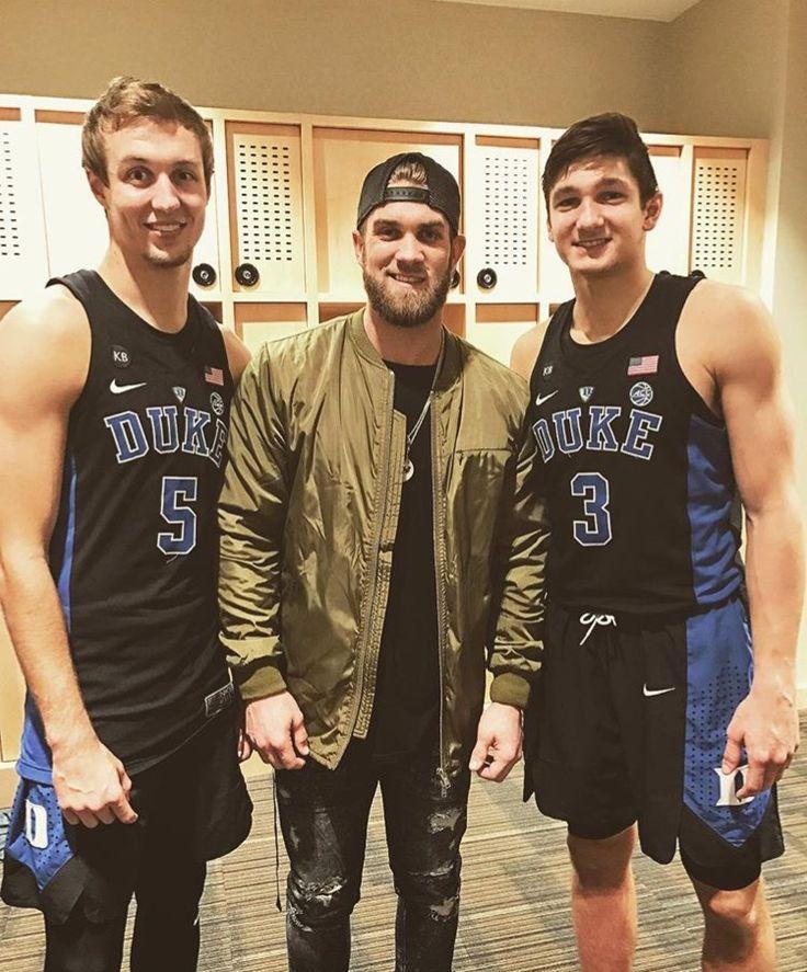 Luke Kennard, Bryce Harper, and Grayson Allen
