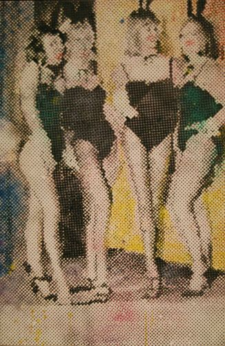Title: Bunnies (1966) Artist: Sigmar Polke