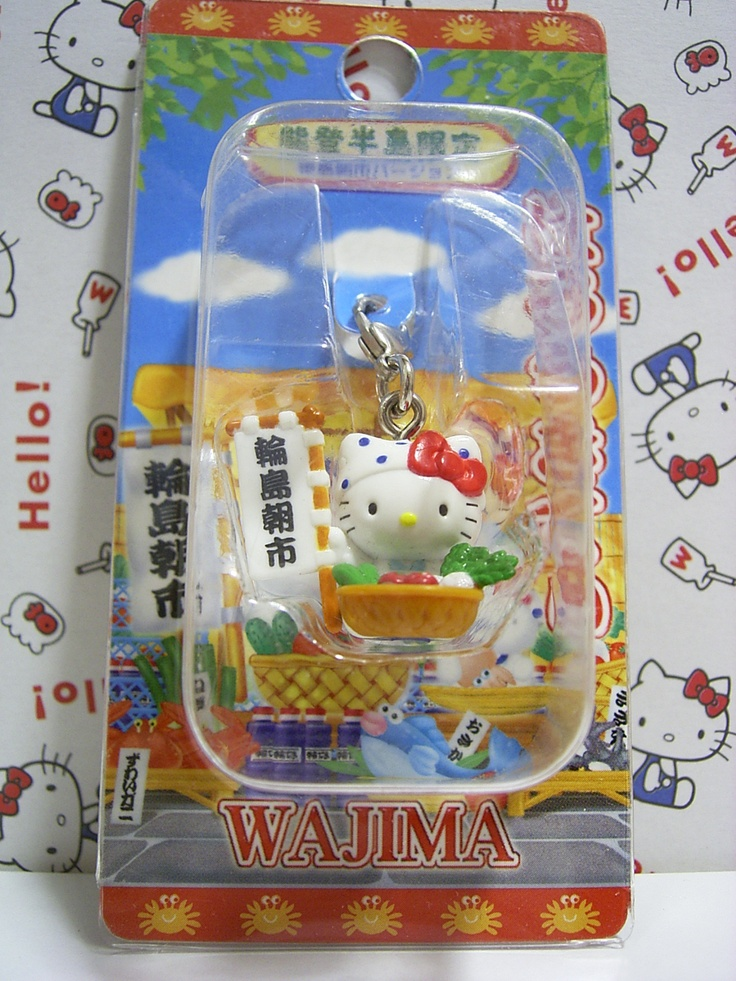 GOTOCHI Hello Kitty Noto Hanto Japan Limited Wajima Version Mascot Charm Sanrio 2003