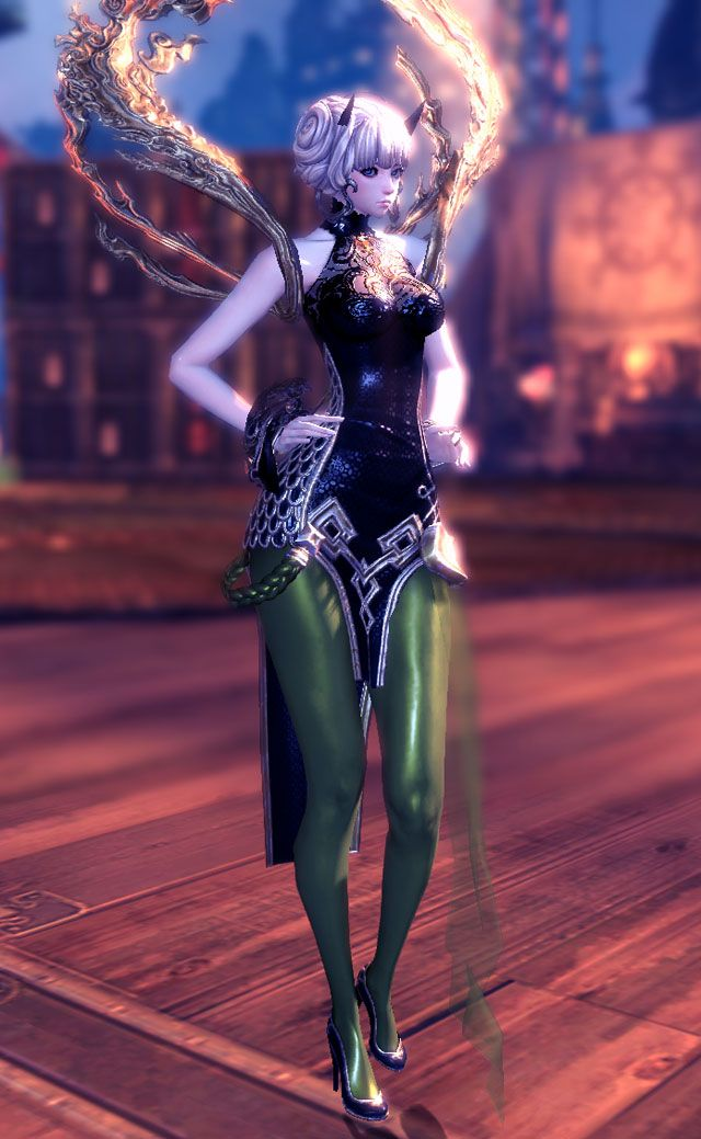 white blade and soul outfit blade and soul the spiral