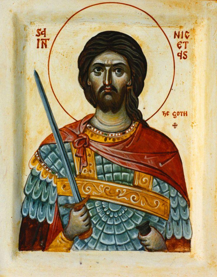 St. Nicetas the Goth - Aidan Hart Sacred Icons