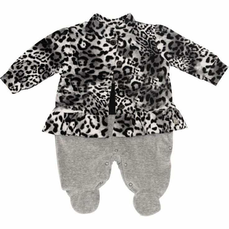 Macacão Bebê Menina com Casaco de Oncinha Plush - Noruega Baby :: 764 Kids | Roupa bebê e infantil