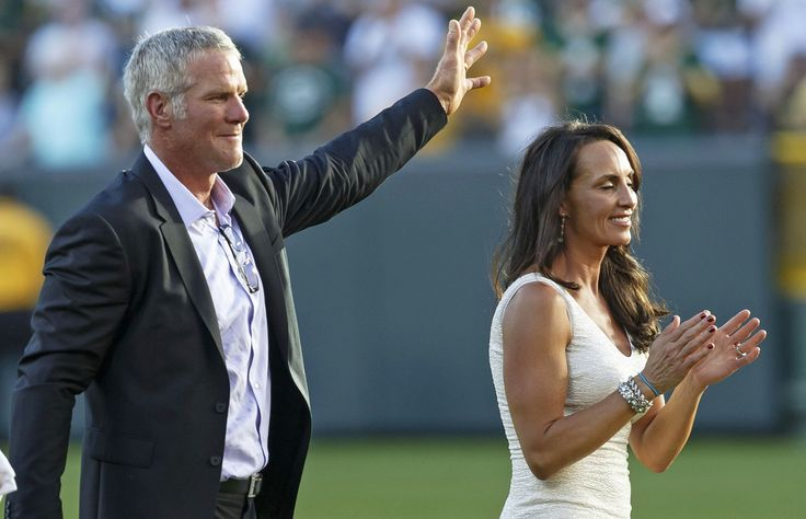 Deanna Favre will usher her husband into football immortality in Canton