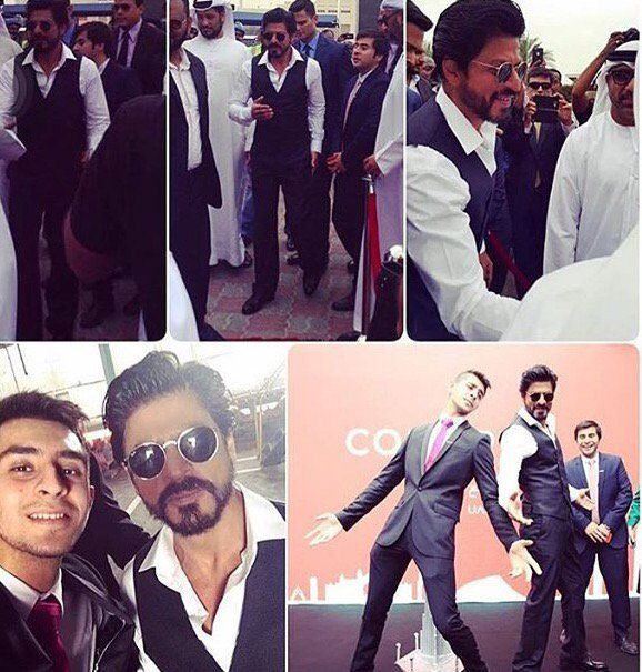 Spotted! - Shah Rukh Khan at 'Conares' Steel Mill, in Dubai.