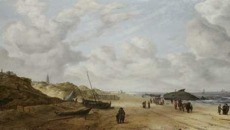 Schilderij van Hollandse meester bevat na restauratie plots walvis - Kunst & Literatuur - De Morgen