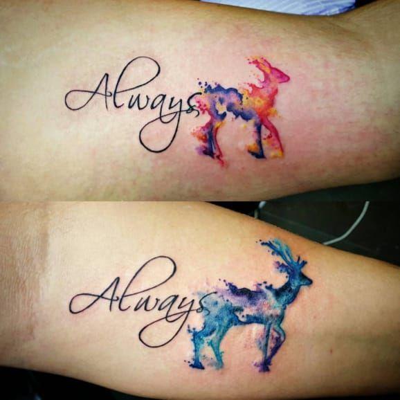 11 Tattoos von Liebhabern, die die Trauringe mit Eleganz ersetzen! – Couple Tattoo