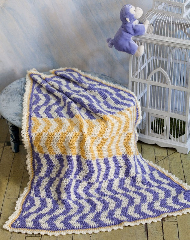 Which way is up Baby Blanket Knit & Crochet Pinterest