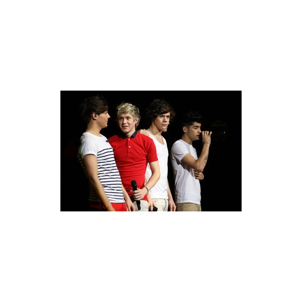 One Direction In Concert ❤ liked on Polyvore