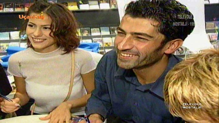 Kenan İmirzalıoğlu ve Zeynep Tokuş'un düğün ve imza günü 01.11.1999 NOST...