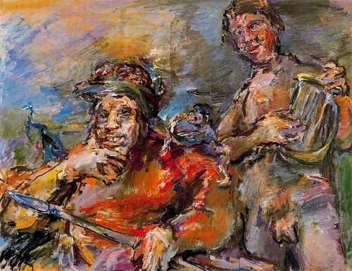 the life and works of oskar kokoschka Buy my life by oskar kokoschka (isbn: 9780025661509) from amazon's book   oskar traces his life's journey from childhood,through his artistic travels and on.