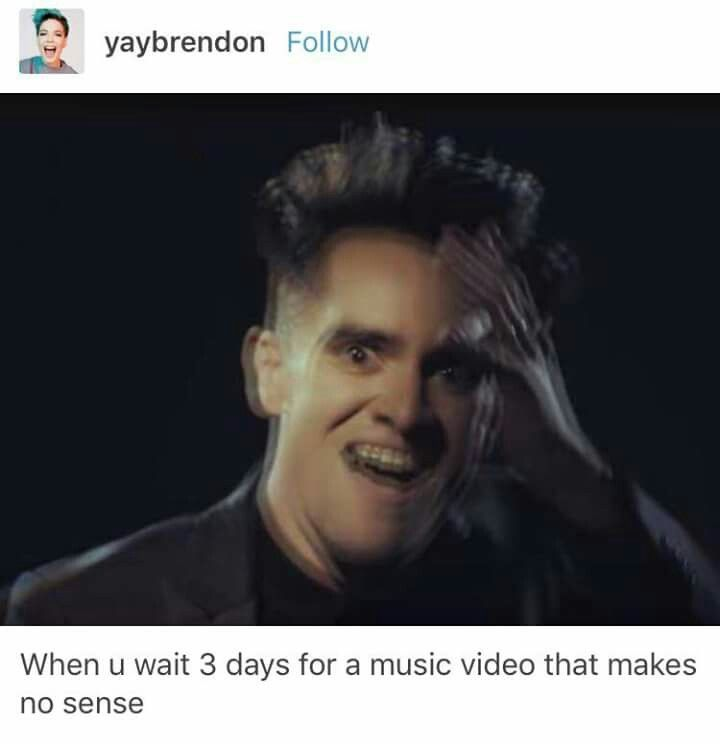 Do Panic! music videos ever make sense?