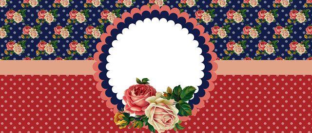 Arte para Sublimar Canecas Shabby Chic - Cantinho do blog