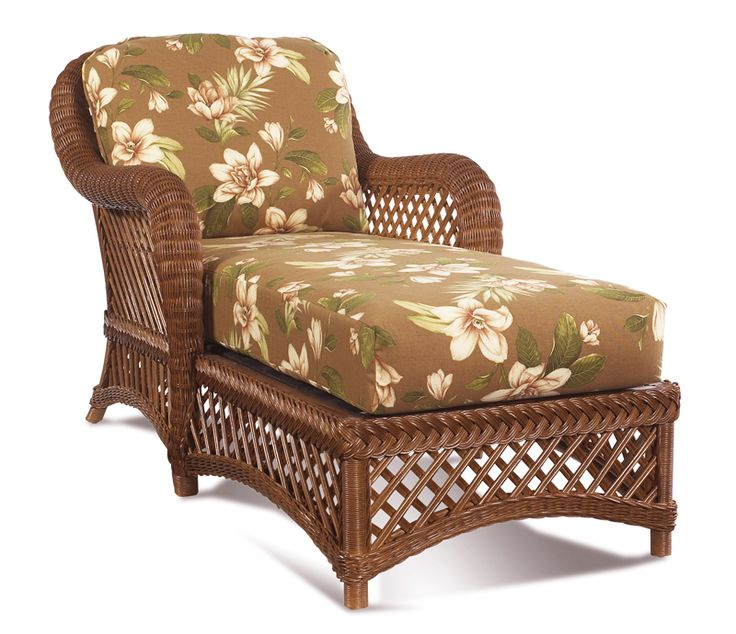 Brown wicker furniture lanai chaise 1 all for Outdoor lanai furniture