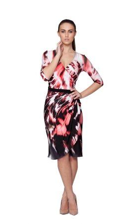 Spring wrap dress Leina Broughton