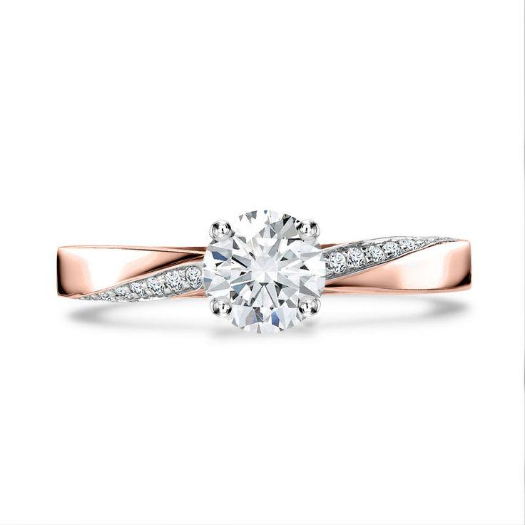 the burlington is a classic solitaire engagement ring