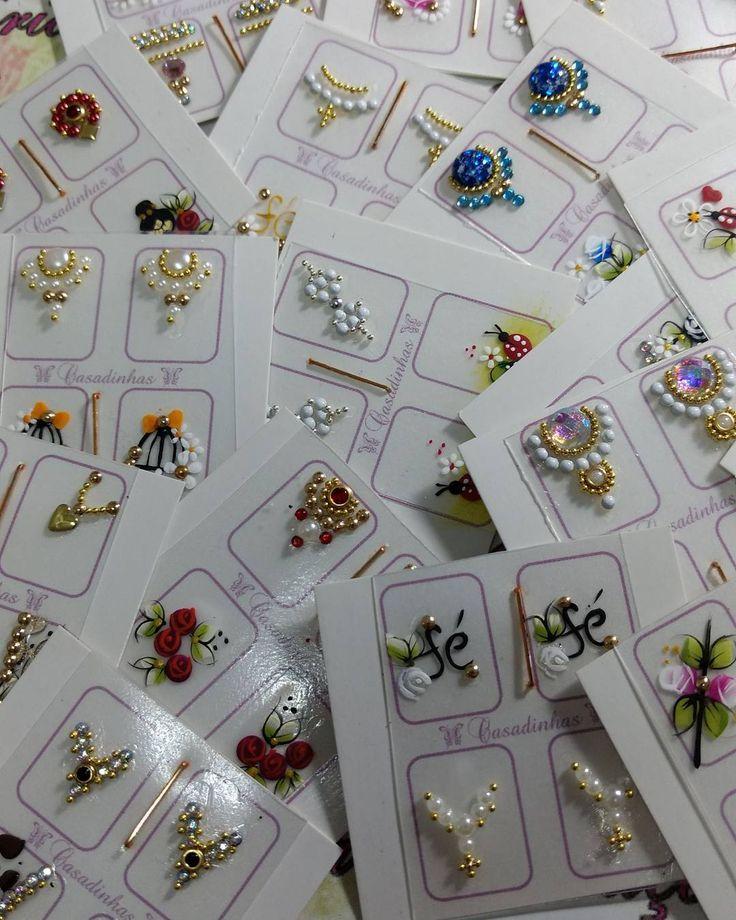 Produção de hoje jóias com artesanais...amooooo