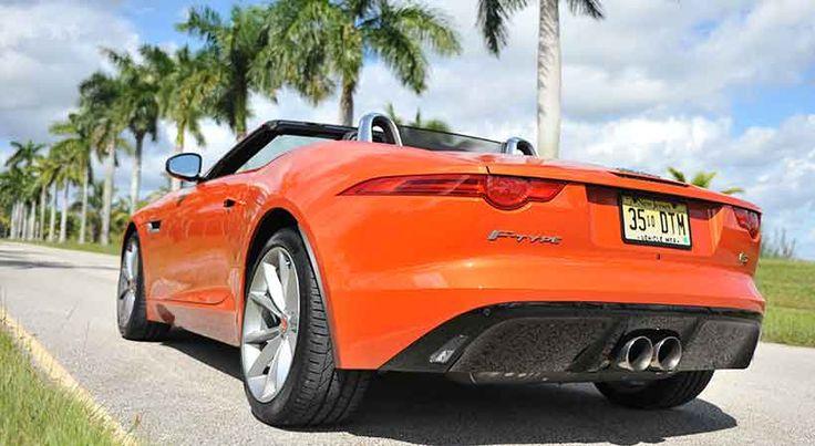 Jaguar F-Type S Convertible 2016, placer al aire libre y transmisión manual - http://autoproyecto.com/2015/10/jaguar-f-type-s-convertible-2016.html?utm_source=PN&utm_medium=Pinterest+AP&utm_campaign=SNAP