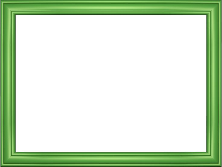 green border png | Green Border Design Elegant embossed ...