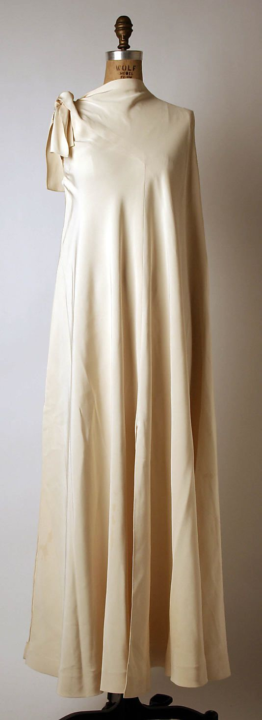 Evening dress   Madame Grès (Alix Barton) (French, Paris 1903–1993 Var region)   Date: 1968   Culture: French
