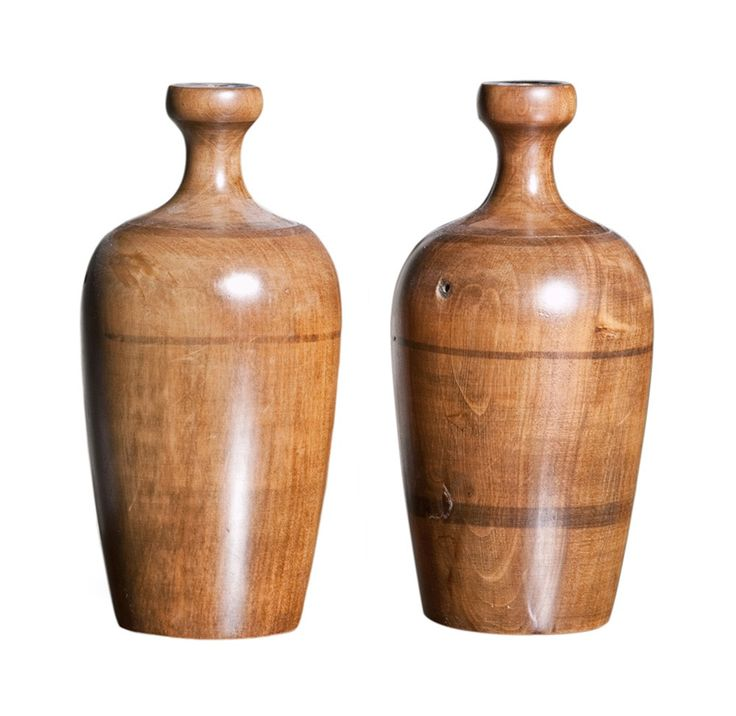 Buy Wooden Urn Lamp Bases by Maxine Snider Inc. - Limited Edition designer Accessories from Dering Hall's collection of Traditional Decorative Objects.