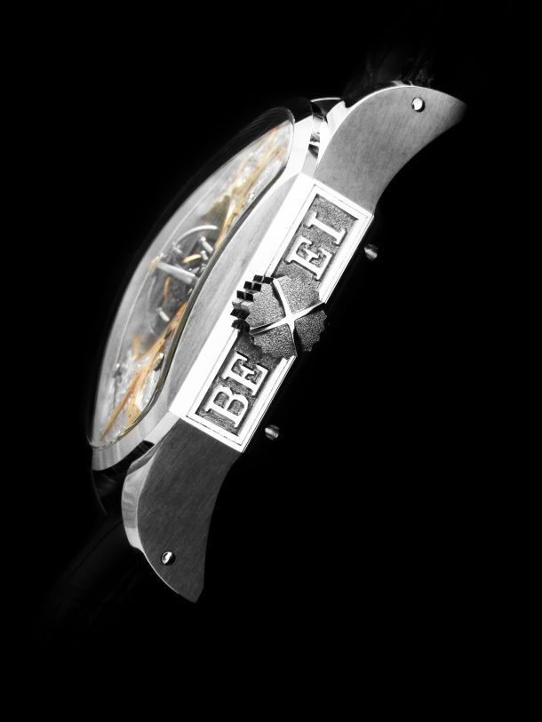 Primus tourbillon Bexei watch handcrafted by Aaron Becsei.
