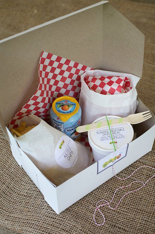 cute boxed lunch