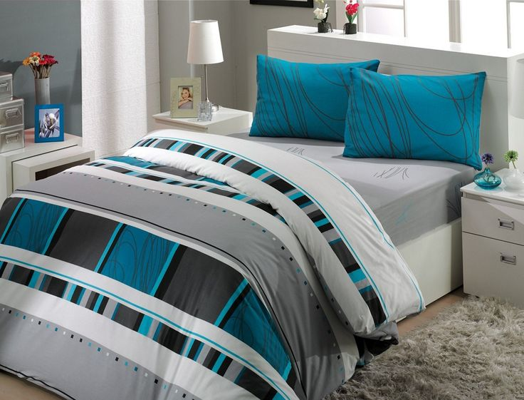 1000 ideas about gray turquoise bedrooms on pinterest - Turquoise and gray bedroom ...