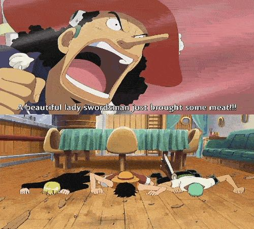 How to wake the monster trio || Funny moment ||  Thousand Sunny (サウザンドサニー号 Sauzando Sanī-gō) || One Piece ||