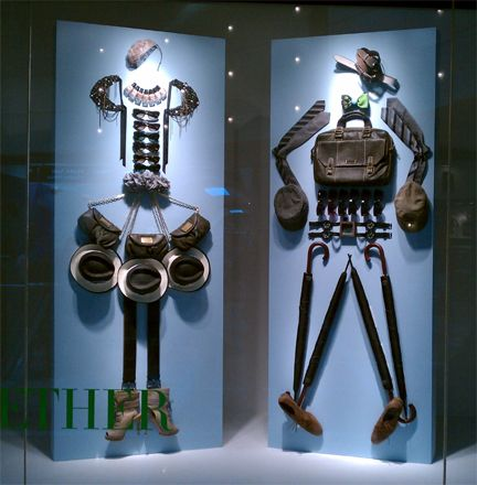Display the product and layer a story within it do not get any better (or simpler). Genius. Nordstrom window display.