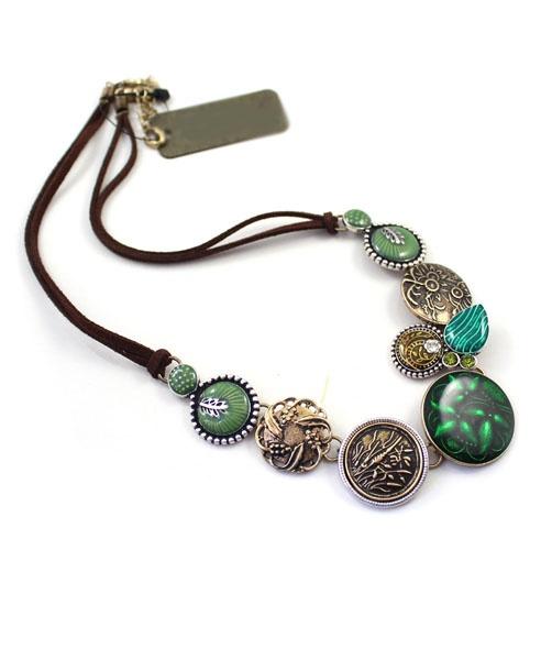 Long Retro Pendant Necklace