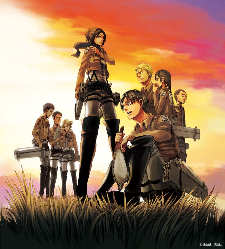 195 Best Images About Attack On Titan On Pinterest