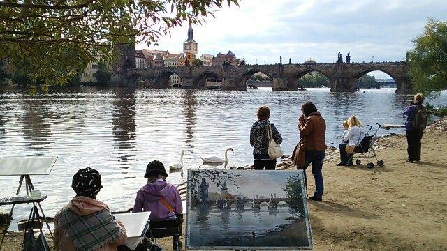 Charles Bridge at Prague