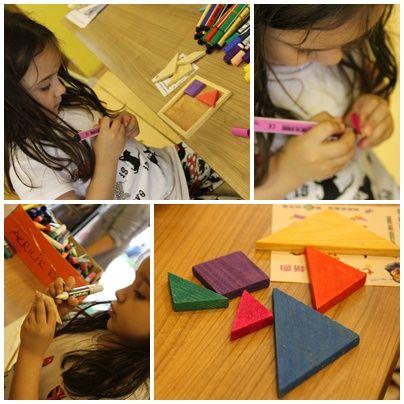 #masa #oyunları #akıl #oyuncakları #tangram #ahşap #tangram #boyandı #renklendirildi #süper #oyun #aracı #oldu