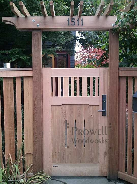 put house numbers on the pergola over sitting area in front of dining room windows