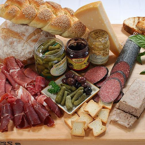 Gourmet Meat & Salami Platter - Click to enlarge