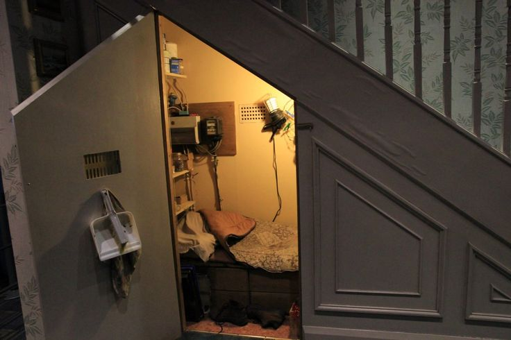 stairways in homes   stairs Harry Potters home in the Dursleys house on Privet Drive