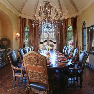 Elegant Dining Room   Mediterranean   Dining Room   Phoenix   By Fratantoni  Luxury Estates