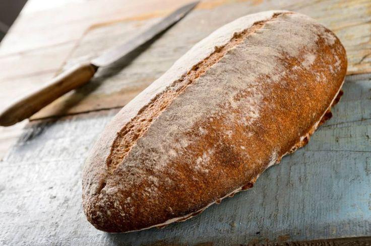 Pão de milho e farinha integral