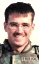 Army SGT James D. Faulkner, 23, of Clarksville, Indiana. Died September 8, 2004, serving during Operation Iraqi Freedom. Assigned to 20th Engineer Battalion, 1st Cavalry Division, Fort Hood, Texas. Died of injuries sustained when an improvised explosive device detonated near his vehicle during combat operations in Baghdad, Iraq.