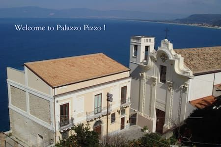 ***** New on Airbnb! ***** PALAZZO PIZZO Main House for families and friends - Villa
